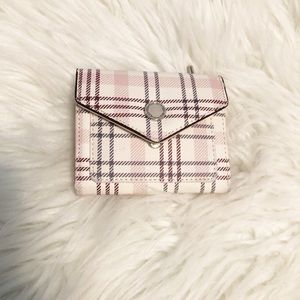 4/$15 Plaid small wallet